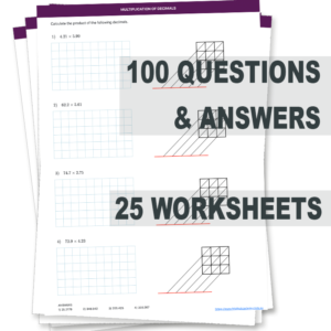 Multiplication of Decimals Worksheets with Answers